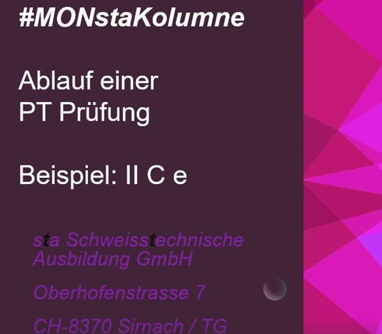 #MONstaKolumne Nummer 2 – Ablauf einer PT Prüfung